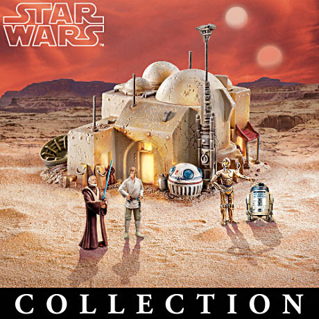 Illuminated STAR WARS Galactic Village Collection