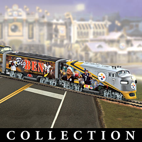 """Big Ben Roethlisberger Express"" Train Collection"