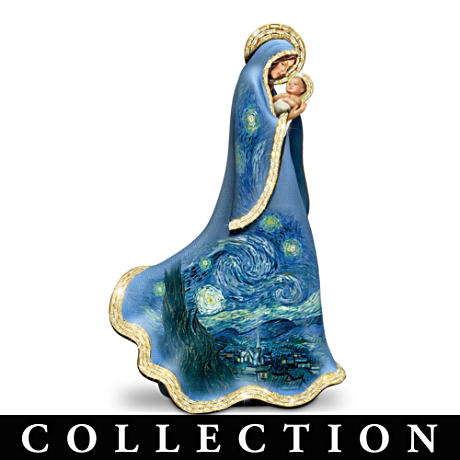 "Vincent van Gogh-Inspired ""Starry Night"" Nativity Collection"