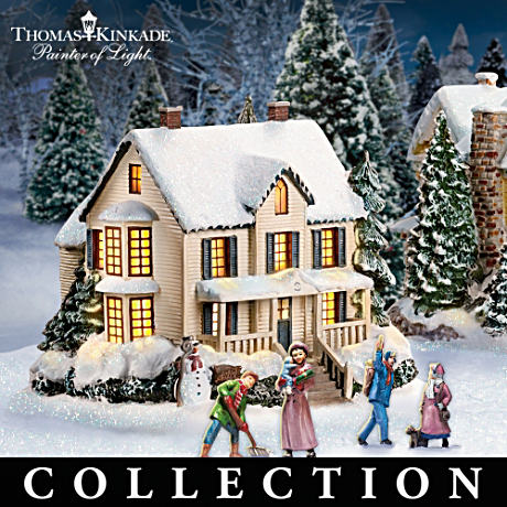 Kinkade-Picked Illuminated Village Buildings With FREE Gifts