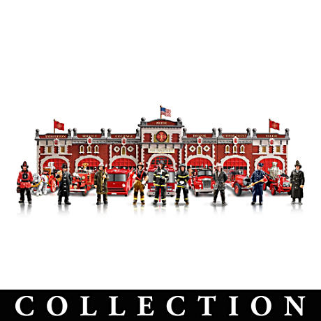 Firefighter's Tribute Historic Firehouse Collection