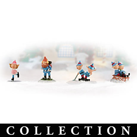 """Rudolph's Christmas Town"" Village Accessory Collection"