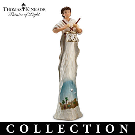 Thomas Kinkade Nativity Collection: First Figurine FREE