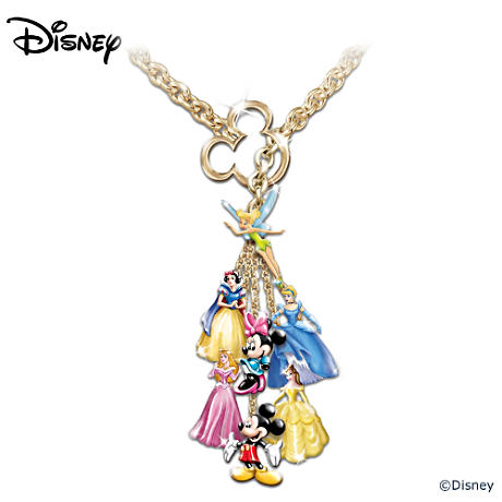 The Ultimate Disney Classic 7-Charm Necklace