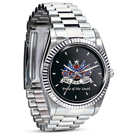 Pride Of The South Confederacy Commemorative Men's Watch