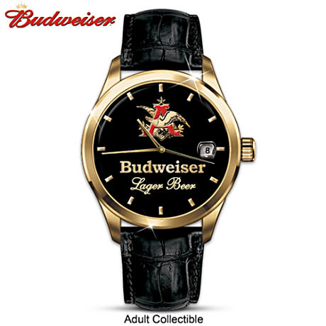"""KING OF BEERS"" Budweiser Men's Collector Watch"