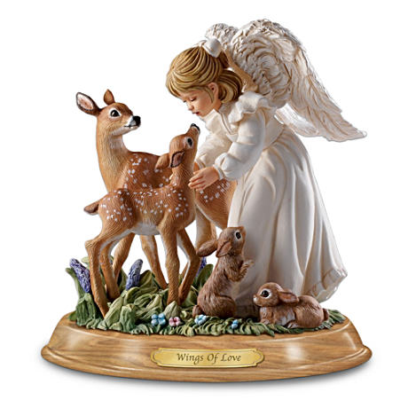 """Wings Of Love"" Guardian Angel Figurine"