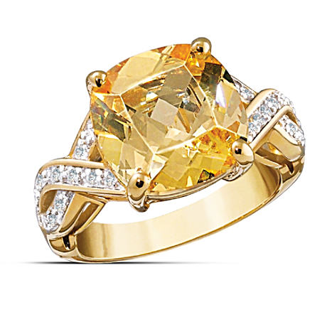 """Reflections"" Color-Changing Women's Ring"