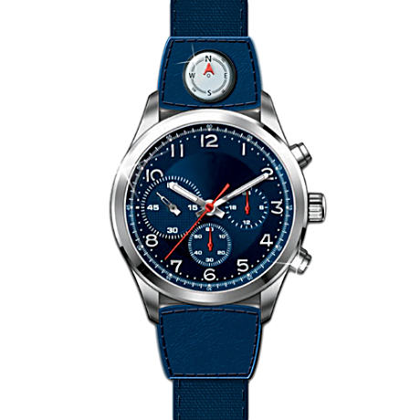 """My Son, My Pride, My Joy"" Chronograph Watch"