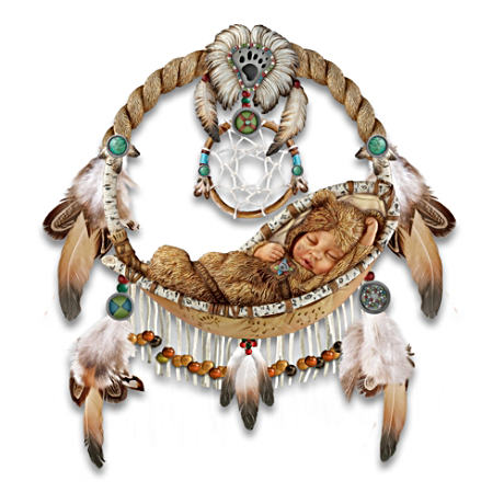 Replica Dreamcatcher With Sleeping Baby