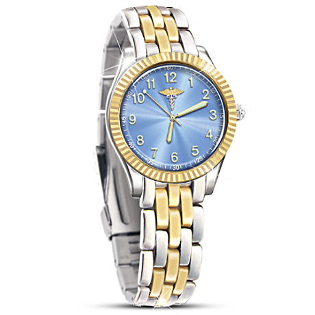 Stainless Steel Women's Watch For Medical Professionals