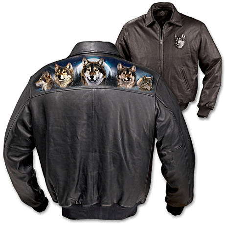 "Al Agnew's ""Spirit Of The Wilderness"" Leather Jacket"