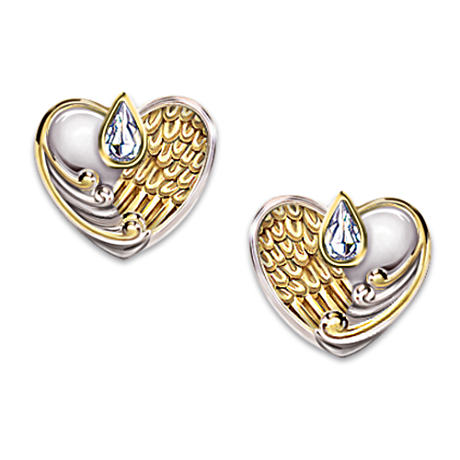"""Always In My Heart"" Non-Pierced Earrings"
