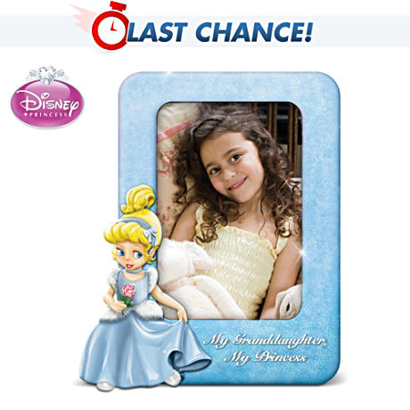 Disney's Cinderella Princess Photo Frame For Grandma