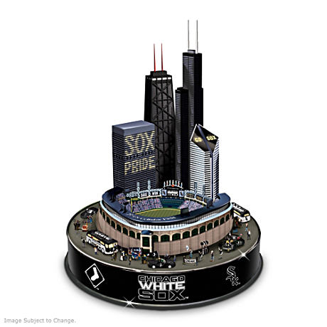 Chicago White Sox Sculpture With Lights, Music And Motion