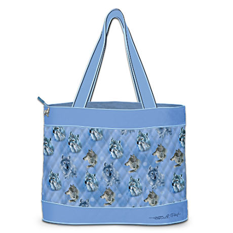 Eddie LePage Quilted Tote With FREE Matching Cosmetic Cases