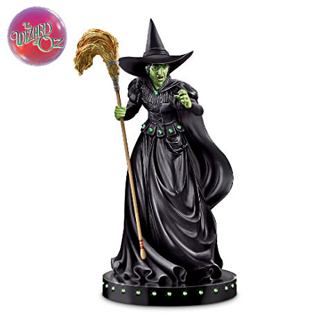 Wicked Witch Of The West Glow-In-The-Dark Sculpture