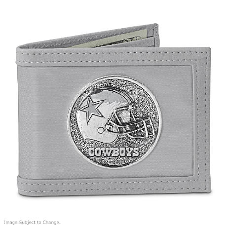 The Dallas Cowboys Stainless Steel Wallet