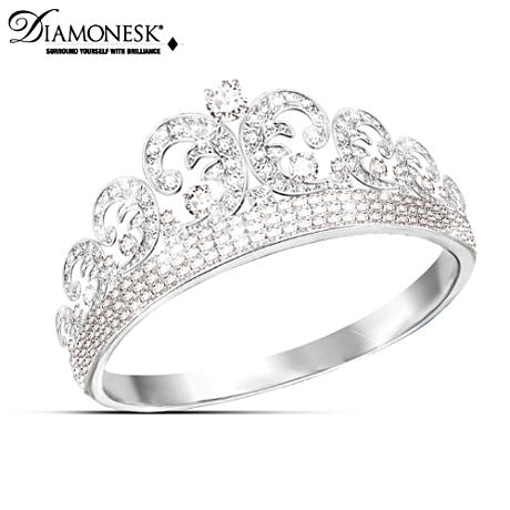 Royal Wedding Tiara Diamonesk Ring