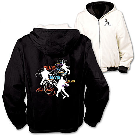 Elvis Presley Reversible Women's Fleece Jacket