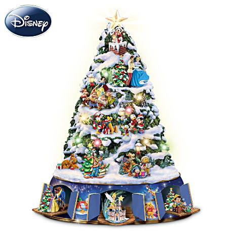 """The Magic Of Disney"" Tree With Lights, Motion And Music"