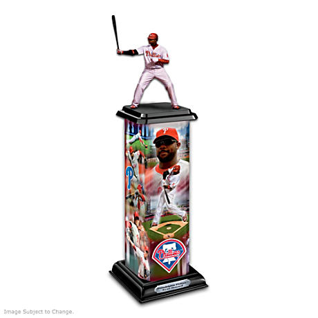 Philadelphia Phillies Ryan Howard Illuminating Sculpture