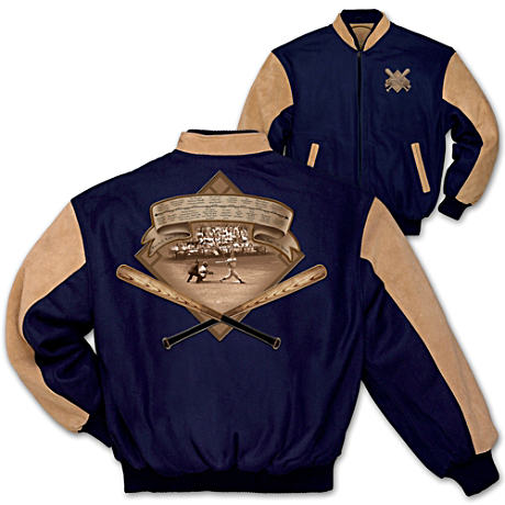 Men's Vintage Varsity Baseball Jacket