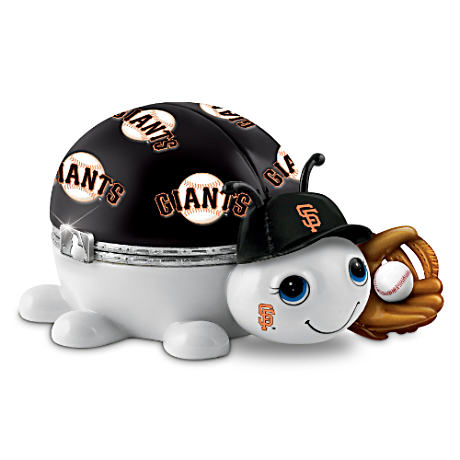 San Francisco Giants Love Bug Heirloom Porcelain Music Box