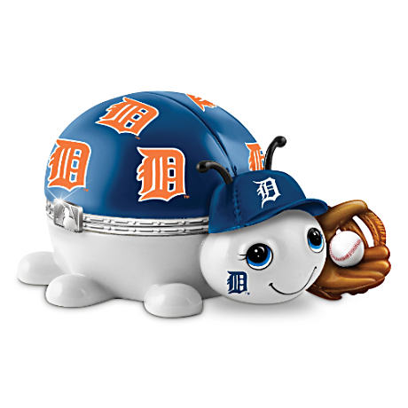 Detroit Tigers Love Bug Heirloom Porcelain Music Box
