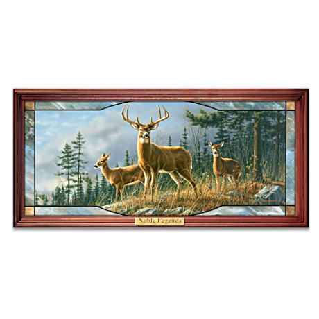 Illuminated Stained-Glass Decor With James Hautman Deer Art