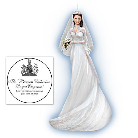 Princess Catherine Royal Elegance Limited-Edition Ornament