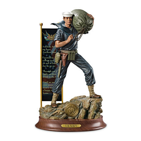 US Navy Pride Commemorative Sculpture