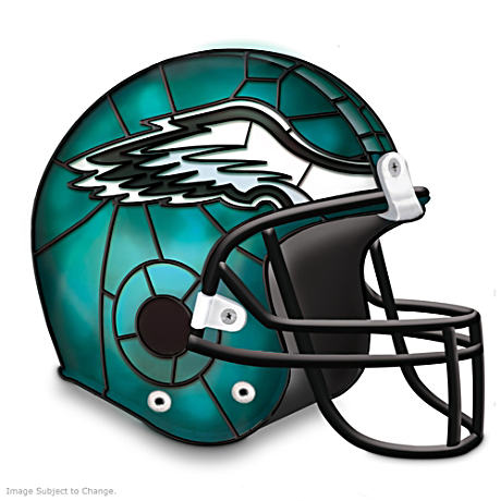 Philadelphia Eagles Football Helmet Accent Lamp