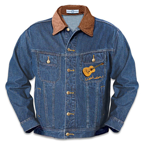 "Willie Nelson ""Country Spirit"" Unisex Denim Jacket"