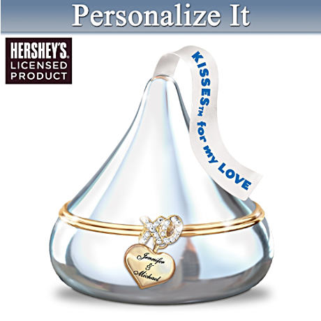 HERSHEY'S KISSES Personalized Music Box For Couples