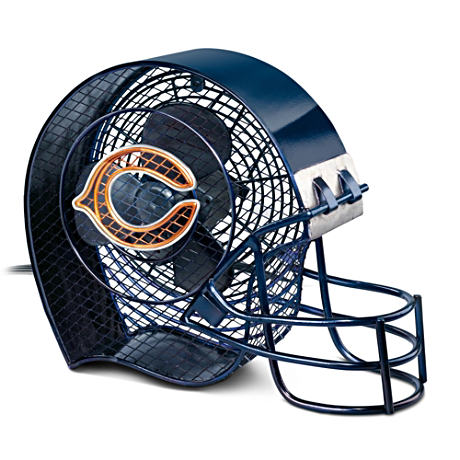Chicago Bears Football Helmet Electric Fan