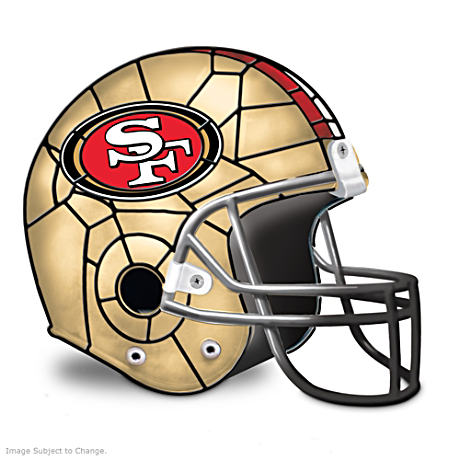 San Francisco 49ers Football Helmet Accent Lamp