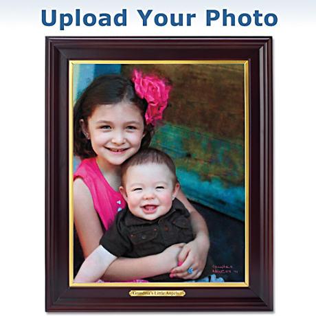 """Cherished Memories"" Personalized Framed Artist Rendering"
