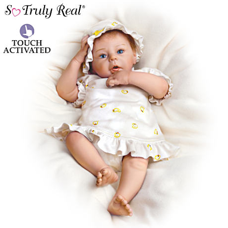 "The Lifelike ""Breathing"" Baby Girl Doll"