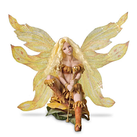 "Kris Hamrick ""Fairy Of The Sun"" Figurine"