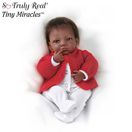 "Tiny Miracles ""Jasmine"" Lifelike Infant Doll"