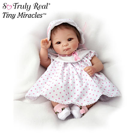 Tiny Miracles Baby Doll Supports Breast Cancer Research