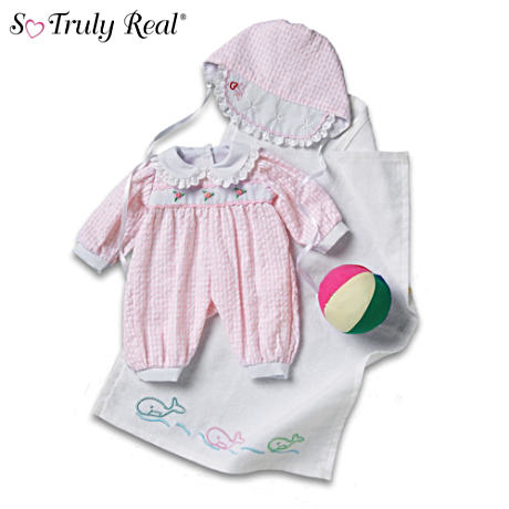 4-Piece Beach Ensemble For So Truly Real Dolls