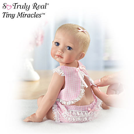 """Hailey Needs A Hug"" Fully Sculpted Baby Doll"