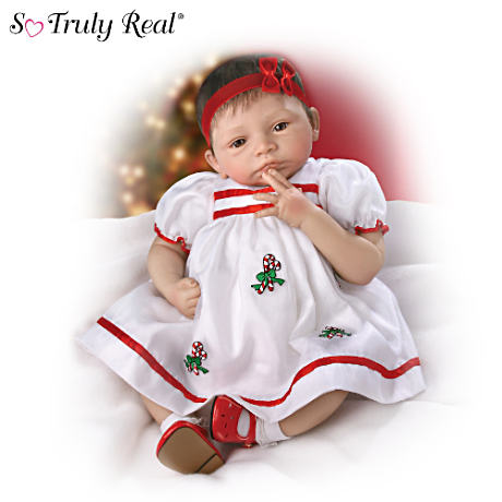 """Noelle's First Christmas"" Lifelike Baby Doll"