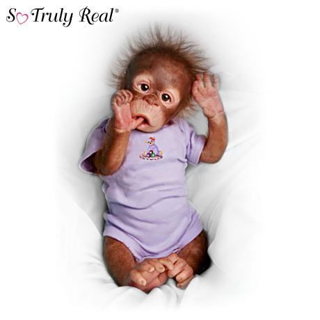 First-ever So Truly Real Baby Orangutan Doll