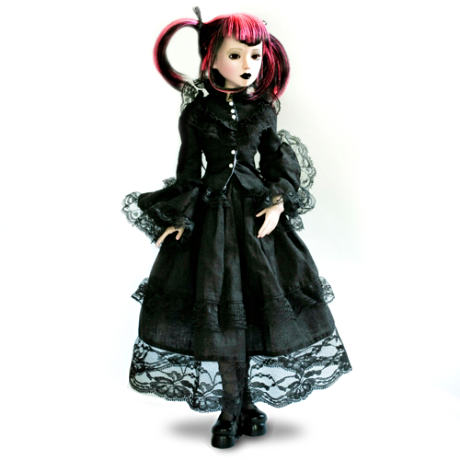 "Delilah Noir: ""Dark And Defiant"" Ball-Jointed Doll"