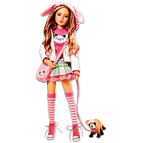 Ball-Jointed Delilah Doll Decked Out In Pink