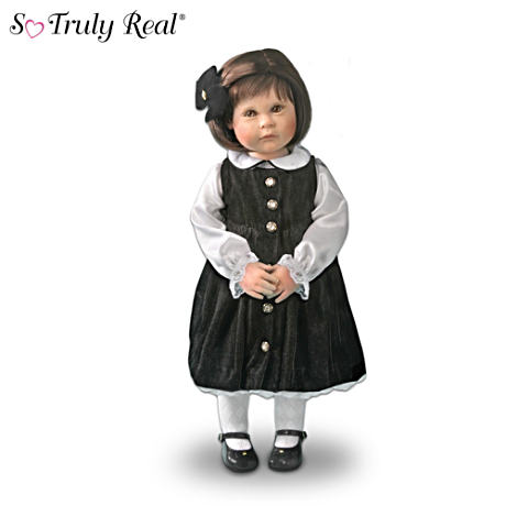 Lifelike Holiday Ivy Girl Child Doll