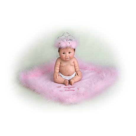 """Princess In Training"" Miniature Baby Doll"